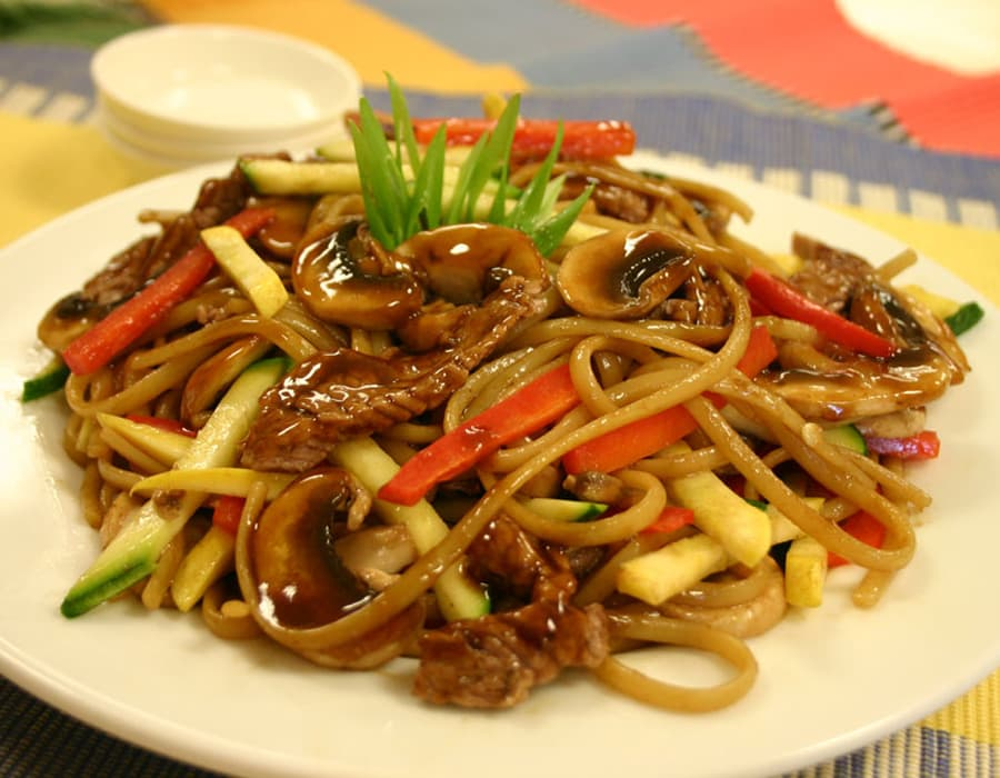 Recipe Pasta Linguine Beef and Oyster Flavored sauce