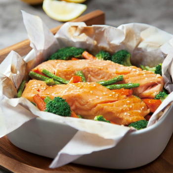 Recipe Baked Salmon Packets